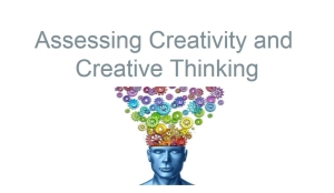 Assessing Creativity and Creative Thinking module