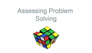 Assessing Problem Solving module