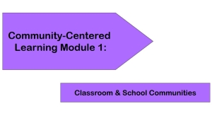 Community-Centered Learning Module 1: Classroom & School Communities