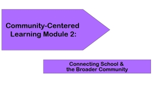 Community-Centered Learning Module 2: Connecting School and the Broader Community